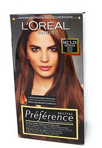 L'Oreal Paris Recital Preference M2 5.25 Antigua Haar Farbe