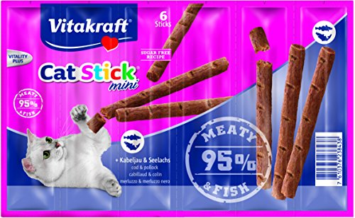 VITAKRAFT Vita Fuerza Gato Snack Cat de Stick Mini 6