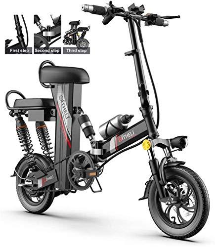 Bicicletas Eléctricas, Bicicletas for adultos plegable eléctrico híbrido Comfort reclinada Bicicletas, 12...