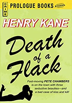 Death of a Flack (Prologue Books) by [Henry Kane]