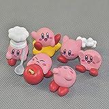 Kirbys - Juego de 5 figuras de Kirby Nendoroid de 3 a 3 cm para decoración de la casa