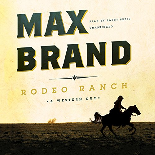 Rodeo Ranch audiobook cover art