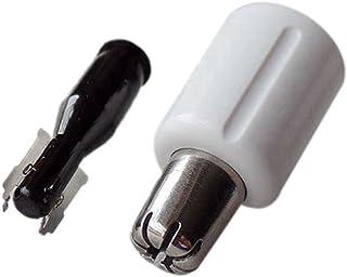 Deylaying 鼻毛カッター替刃 部品 パーツ 内刃 外刃 耐用 高質量 for Panasonic 鼻毛カッター ER-GN20 ER-GN25