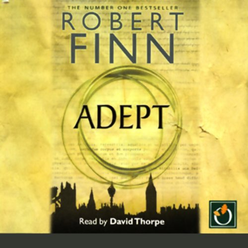 Adept audiobook cover art