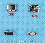 Durable Nuevo Conector Micro USB de 5 Piezas para Nokia E7 E7-00 Lumia 822 Conector del Cargador Enchufe del Puerto del Muelle - (Longitud del Cable: Otro) (Color : Other)