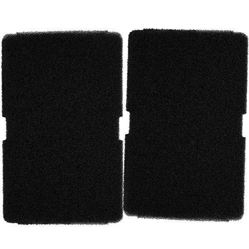 2 Filter für Beko, Grundig, Blomberg, Elektra Bregenz Trockner - 2964840100 Wärmepumpentrockner - 240 x 150 x 10 mm - Schwammfilter Filtermatte Kondenstrockner Schaumstoff Filter