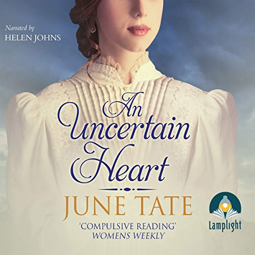 An Uncertain Heart audiobook cover art