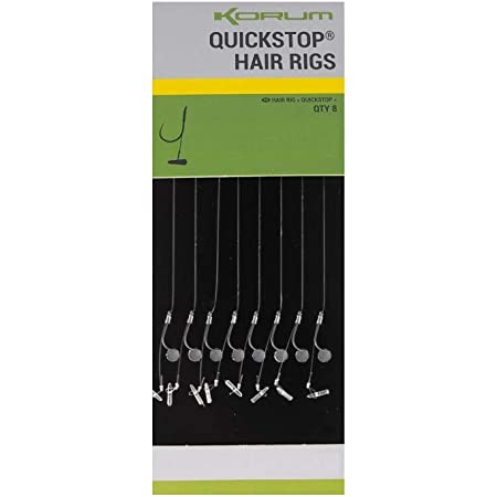 Korum One Knot Hook Rigs Braided Barbed//Barbless