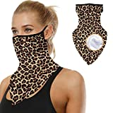 Winter Face Scarf Warmer Bandana Ear Loops Face Cold Weather Balaclava Neck Gaiters for Dust Wind Motorcycle Mask Style #6
