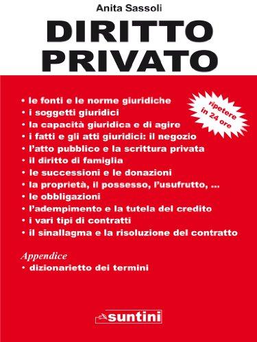 Diritto privato (suntini)