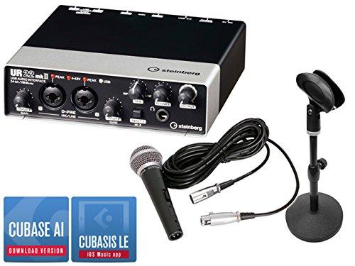 Steinberg スタインバーグ - USB オーディオインターフェース UR22mk2 宅録セット