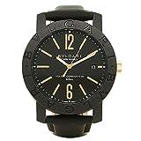 ブルガリ BVLGARI 自動巻き メンズ 腕時計 BBP40BCGLD ブラック 並行輸入品