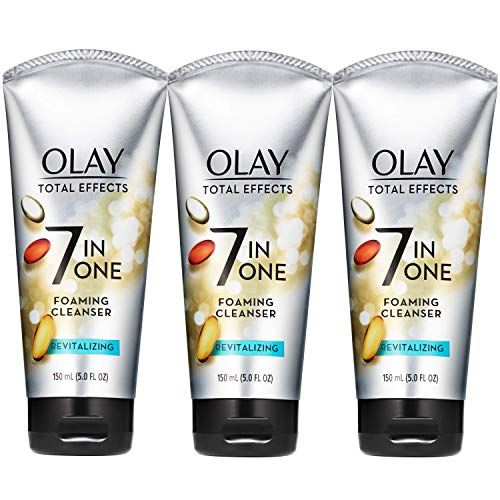Olay Total Effects Revitalizing Foaming Facial Cleanser, 5.0 fl oz ( pack of 3)