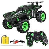 Coche de control remoto, 2.4G 4WD RC Coche, 1:12 Radio Control remoto eléctrico Drift Car, Coche controlado a distancia, juguete Offroad, regalo para niños y adultos, versión RTR (verde)