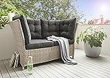 Destiny Loungesofa Palma Lounge Sofa Bank Gartensofa Polyrattan Dininglounge