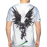 男のファション半袖 Tシャツ 機動戦士ガンダム Gundam 面白い図案デザイン夏のプレゼントM