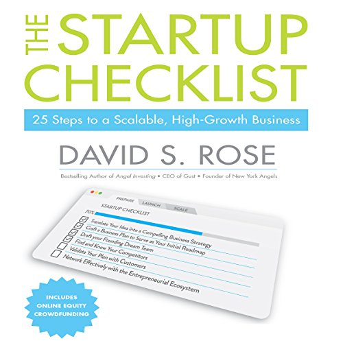 The Startup Checklist audiobook cover art