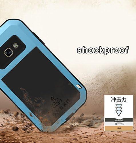/Étanche Coque antichoc en aluminium Coque de protection rigide pour Samsung A520 A5 Coque Simicoo Pour Samsung A5 2017 SM-A520 anti-poussi/ère