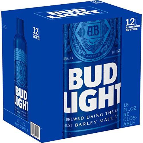 Anheuser Busch Bud Light - Aluminium Bottles (12 x 0.473 l)