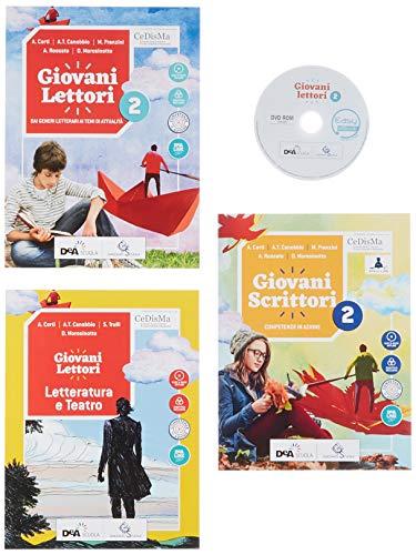 Giovani lettori-Giovani scrittori. Con Letteratura e teatro ed Easy eBook (su dvd). Per la Scuola media. Con ebook. Con espansione online. Con DVD-ROM (Vol. 2)