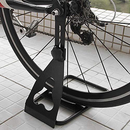 SALUTUYA Soporte de Bicicleta Resistente de aleación de Calidad Apto para Diferentes tamaños de Bicicletas