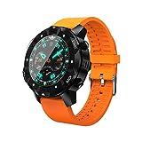 SmartWatch JRC S3 1.39 pulgadas Pantalla Oled Pantalla Bluetooth Smart Watch, IP67 impermeable, soporte Compass / tarjeta SIM / Navegación GPS, compatible con teléfonos Android e iOS (Negro) Bluetooth