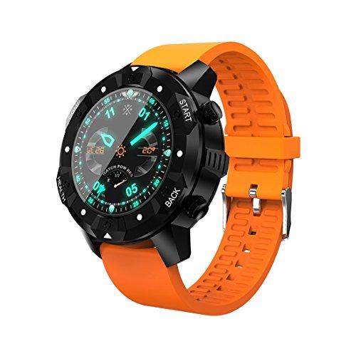 Consumer Electronics S3 1,38 Zoll OLED Bildschirm Display Bluetooth Smart Watch IP67 Wasserdicht Unterstützung Kompass Pulsmesser SIM Karte GPS Navigation Kompatibel mit Android und iOS Handys S