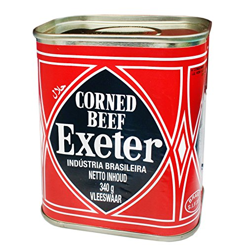 8x340g Sparpack! Exeter Corned Beef aus Brasilien