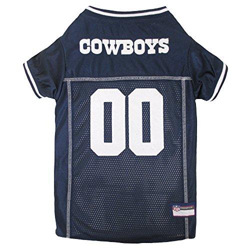 Pets First NFL Dallas Cowboys Premium Pet Jersey, X-Small