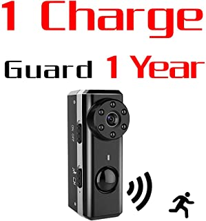PIR Spy Hidden Camera,ZTour 1080P HD Smallest Mini Nanny Video Recorder Covert Security Camera,Tiny Compact,with Night Vision and Motion Detection,Max 1 Year Standby Time for Home,Office Surveillance