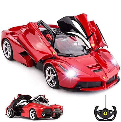 RASTAR Remote Control Ferrari Car, 1:14 Red Ferrari Toy Car, La Ferrari Remote Control Car
