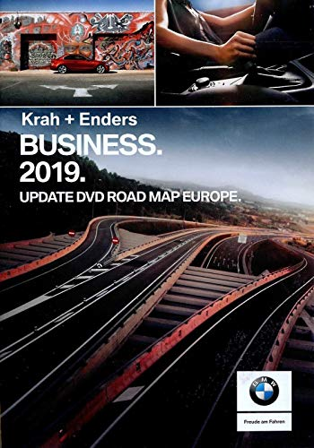 BMW Navi DVD 2019 Europa Business Map 2019 + Boodschappenschip