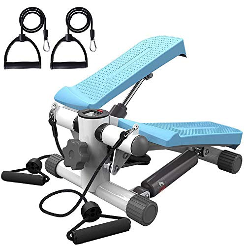Review ESACLM Step Fitness Machines Air Stair Climber Stepper Exercise Machine Twist Stepper with LE...