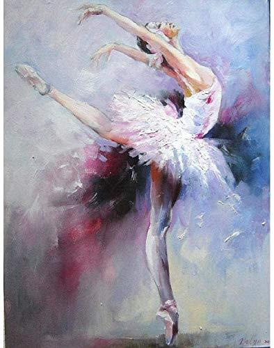 Niños Adultos DIY Experiencia Rompecabezas De Madera 1000 Piezas Bailarina De Ballet Desafío Paciencia Rompecabezas Ejercicio Amistad Regalo Casual