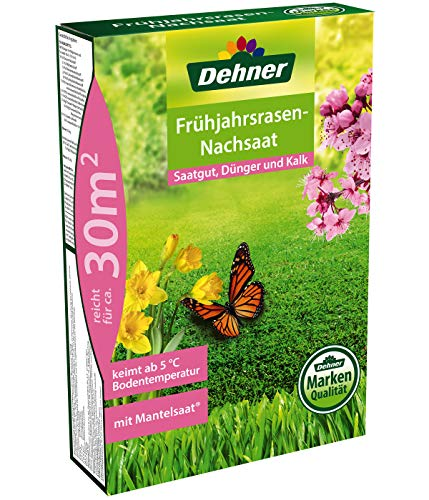 Dehner Rasen-Nachsaat, Frühjahrsrasen,...