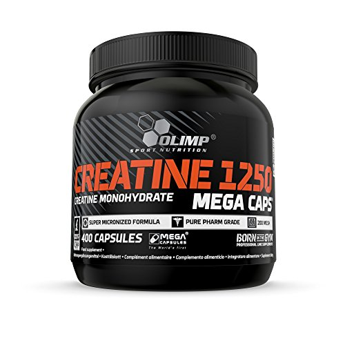 Olimp Sport Nutrition Creatine 1250 Mega Caps - 400 Capsule
