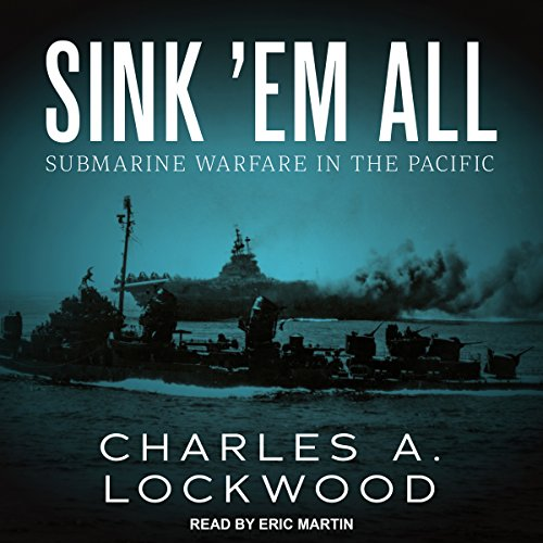 Sink 'Em All audiobook cover art