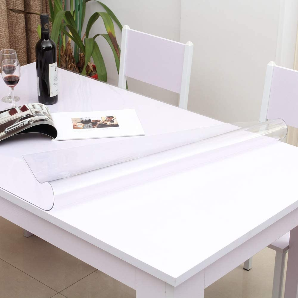 Leffora Custom 1.5mm Thick Crystal Selling and selling Table Protector Cover 1 Clear New product!!
