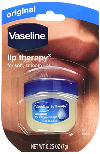 Vaseline Lip Therapy Original, .25 oz (Pack of 12)