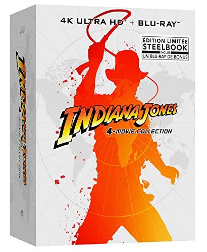 Indiana Jones-L'intégrale [Édition SteelBook limitée-4K Ultra HD Blu-Ray Bonus]