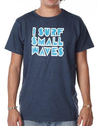 Light Herren Small T-Shirts, Oberteile & Polos, Deep Blue Melange, L