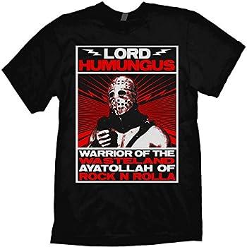 Mad Max Road Warrior T-Shirt Humungus Black