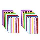 Afufu Foto Angoli Autoadesivo 20 Fogli Montaggio Adesivi di Foto Adesivi d'Angolo di Carta per Scrapbooking Album Diario
