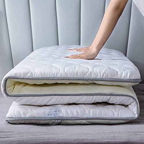 RTSFKFS Colchones Colchón de Piso japonés, colchón Plegable de Dormitorio para Estudiantes, Estera de Tatami futón japonés, sueño, Doble Roll Roll colchón para Sala de Estar Textiles del hogar