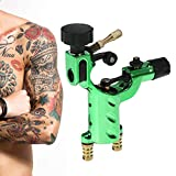 Dragonfly Tattoo Machine Guns Shader Liner Motor rotativo Tattoo Tattoo RCA Cord Artista Herramienta de maquillaje(Verde)