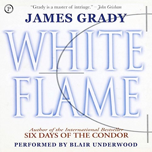 White Flame audiobook cover art