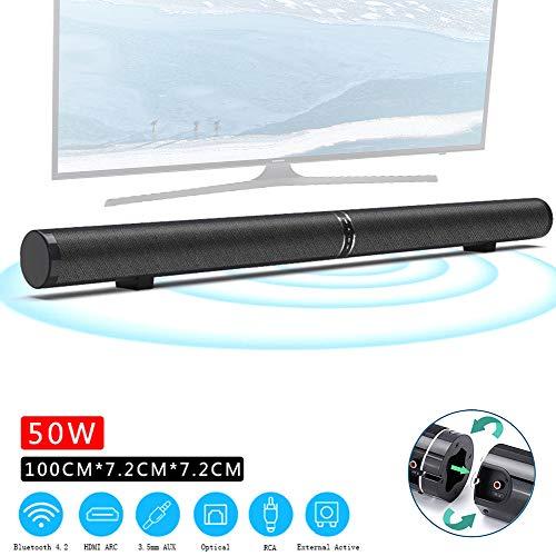 Speaker-EJOYDUTY 40 inch Bluetooth surround home cinema, 2019, bijgewerkte versie, wandmontage soundbar met 50 W, 6 luidsprekers, afstandsbediening