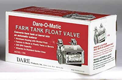 Dare Stock Tank Float Valve 85 Psi Brass from Dare Products Inc
