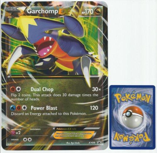 Pokemon Garchomp EX JUMBO OVERSIZED Promo Card From Collection Box