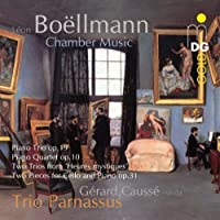 Piano Trio Op. 19 / Piano Quartet Op. 10 by GERARD TRIO PARNASSUS / CAUSSE (2012-07-17)